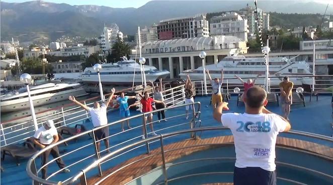 Волонтеры фонда «За здоровый образ жизни» приняли участие во всероссийской акции «Волна здоровья»