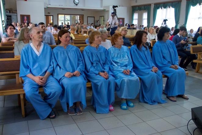 Праздник крещения состоялся в московском Духовном центре на Нагатинской