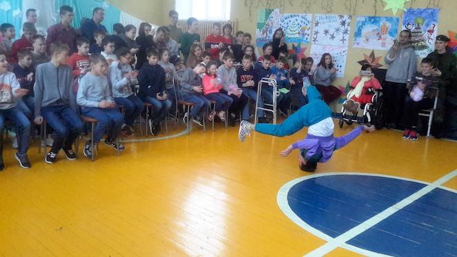 Рождественский праздник в Лухтоновской школе-интернате организовали волонтеры из Москвы